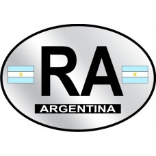 Argentina Country Origin Decal - Reflective