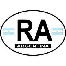 Argentina Country Origin Decal - Non Reflective