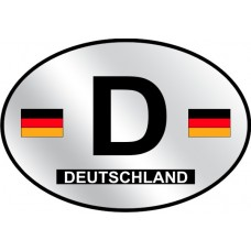 Germany Country Origin Decal - Reflective