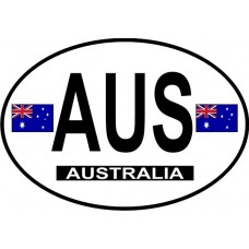 Australia Country Origin Decal - Non-Reflective