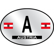 Austria Country Origin Decal - Reflective
