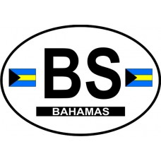 Bahamas Country Origin Decal - Non-Reflective
