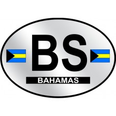 Bahamas Country Origin Decal - Reflective