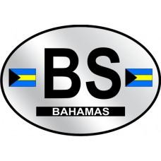 Bahamas Country Origin Decal - Reflective