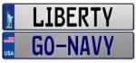 Custom American Europlate