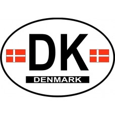 Denmark County Origin Decal - Non-Reflective