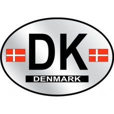 Denmark County Origin Decal - Reflective