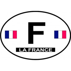 France Country Origin Decal - Non-Reflective