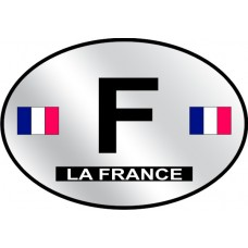 France Country Origin Decal - Reflective