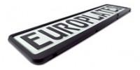 Europlate Frame - Black