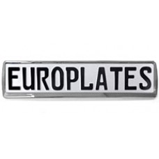 Europlate Frame - Chrome