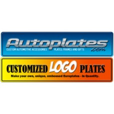 Promotional Embossed Europlates - Full Color