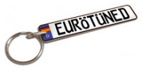 Custom Europlate Key Tag