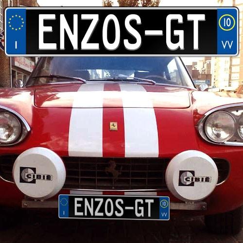 Custom Italian Europlate