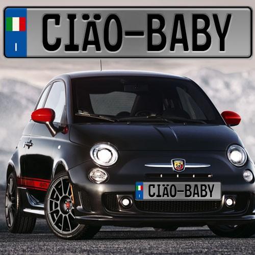 2016 Fiat 500 Abarth >> Custom Europlate